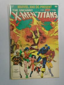 X-Men and the Teen Titans #1 (1982 1st print) 4.0/VG