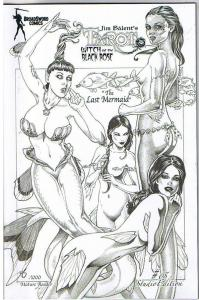 TAROT WITCH of the Black Rose #65 Variant, NM-, Jim Balent, 2000,Holly Golightly