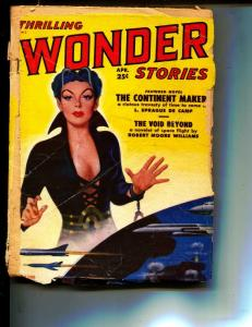 Thrilling Wonder Stories-Pulp-4/1951-Sprague de Camp-