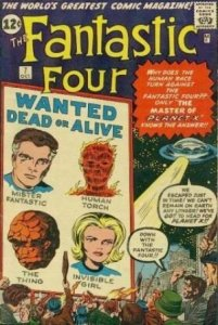 Fantastic Four #7 (ungraded) stock photo / SCM