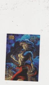1994 Marvel Masterpieces Gold Foil Signature Series #53 Husk/Hildrebrandt