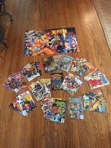 HUGE Age Of Apocalypse Set. Weapon X, Astonishing X-men, Gambit & Externals+++