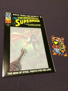 Adventures of Superman #500 NM/MT DC Comics (1993) Collector's Edition
