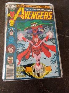 The Avengers #186 (1979) 1ST CHTHON WANDAVISION