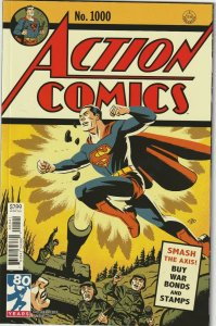Action Comics # 1000 Variant 1940's Cover NM DC