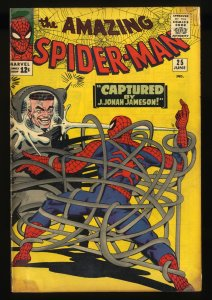 Amazing Spider-Man #25 GD/VG 3.0 1st Mary Jane!