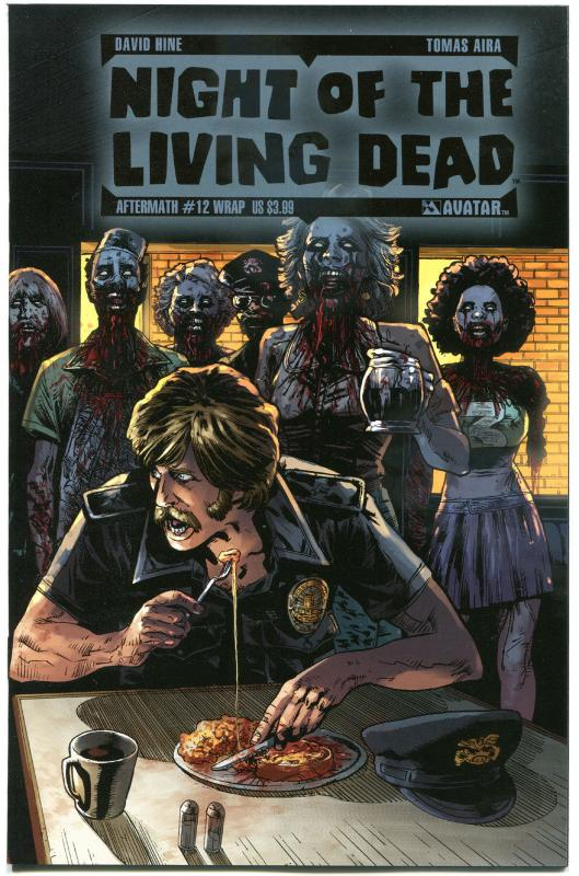 NIGHT of the LIVING DEAD Aftermath #12, NM, Wrap, 2012, more NOTLD in store