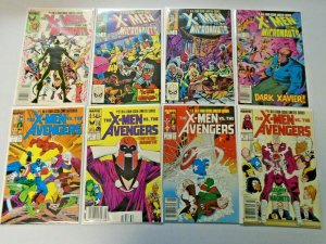 X-Men 2 Sets 8 Different 8.0 VF (1984 + 1987)