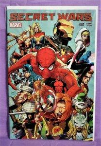 Greg Land SECRET WARS #1 Dynamic Forces Variant Cover (Marvel, 2015)!