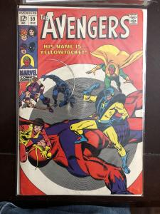 Avengers 59 first yellowjacket