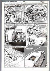 Avengers #286 Page 24 Original Comic Book Art - John Buscema 1987