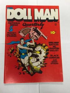 Special Edition Reprints Flashback Comics 9 Doll Man Quarterly 1 Very Fine 8.0