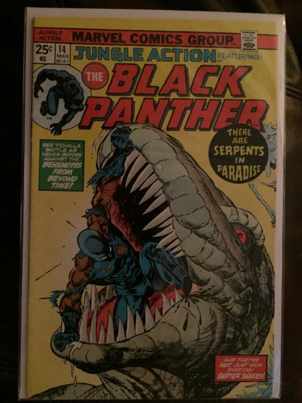 Black Panther Jungle Action #14 '73