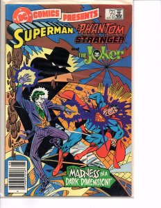 DC Comics Presents #72 Superman and The Phantom Stranger and The Joker  VF