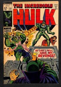 The Incredible Hulk #114 (1969)
