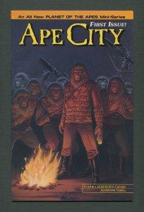 Ape City #1  /  8.0 VFN  / August 1990