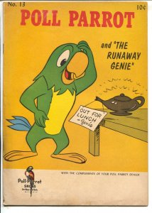 Poll Parrot #13 1961-Western-Runaway Genie-shoe store promo-G/VG