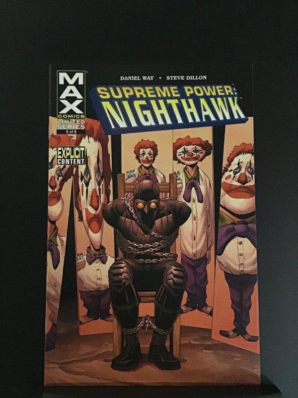 Supreme Power: Nighthawk (JP) #5 (2006)