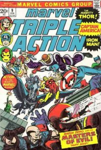 Marvel Triple Action #9 FN; Marvel | save on shipping - details inside