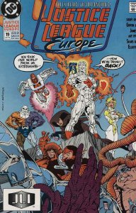 Justice League Europe #19 VF/NM; DC | save on shipping - details inside