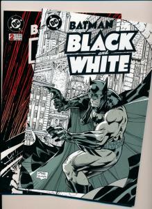 BATMAN Black & White # 1,2 ~ DC Comics 1996 NM (PF456)
