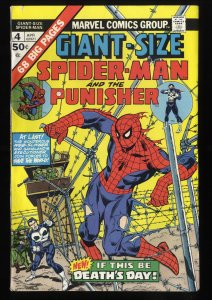 Giant-Size Spider-Man #4 VG/FN 5.0 3rd Punisher!