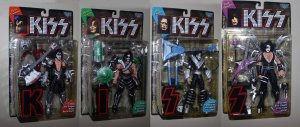 Kiss Ultra Action Figures (set of 4)  McFarlane Toys 1997