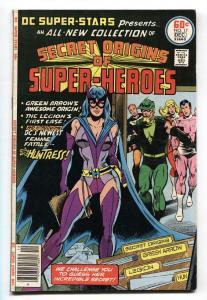DC SUPER-STARS #17-1st HUNTRESS-GREEN ARROW ORIGIN-KEY VF