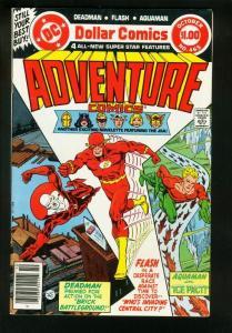 ADVENTURE COMICS #465 1979-JUSTICE SOCIETY OF AMERICA-DEADMAN-FN/VF