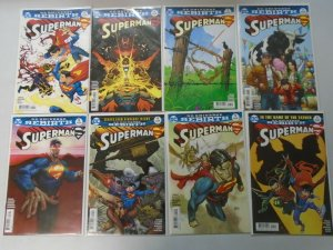 Superman lot 45 different from #4-35 with variants 8.0 VF (2016-18 4th Series)