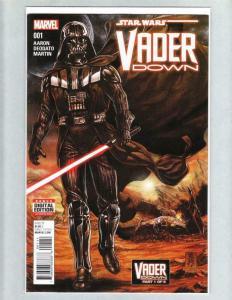 STAR WARS VADER DOWN #1, VF/NM, Dark Side, 2016, Darth Vader, more SW in store