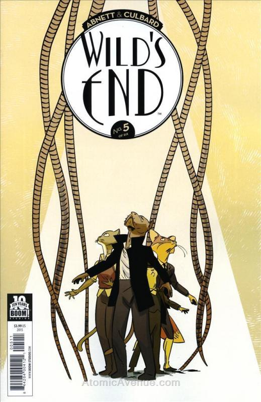 Wild's End #5 VF/NM; Boom! | save on shipping - details inside