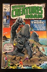 Where Creatures Roam #3 (1970)