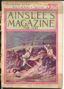 Ainslee's Magazine #5 6/1898-Matt Morgan Jr-pulp fiction-Dreisler-Marvin-FR/G