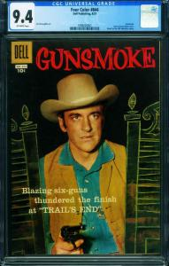 Four Color Comics #844 CGG 9.4 1959-Gunsmoke-James Arness 1998200007