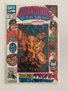 Guardians of The Galaxy #27 Staring the Inhumans Marvel Comics VF