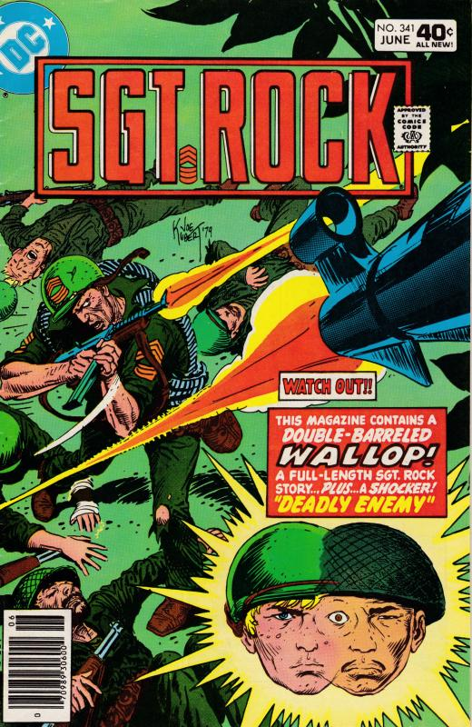 Sargent Rock Nr.341 JUN.1980 Sargent Rock Full Length Story VF Clean