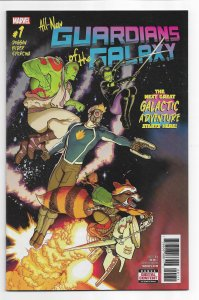 All-New Guardians of the Galaxy #1 (2017) NM