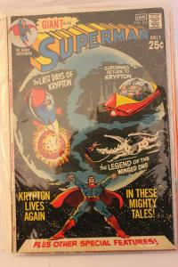 Superman #232 (DC, 1971) VF