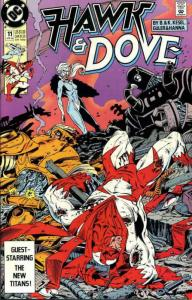 Hawk and Dove (3rd Series) #11 FN; DC   save on shipping - details inside
