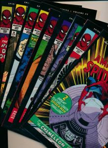 The Amazing Spider-Man Collectible Series REPRINTS Lot of 9 Mixed condit (PF673)