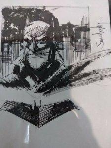 SEAN GORDON MURPHY ORIGINAL ART BATMAN WHITE KNIGHT SKETCH CGC SIGNATURE SERIES
