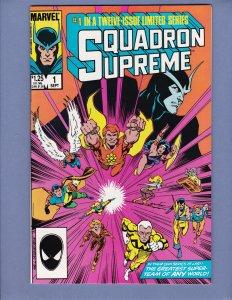 Squadron Supreme #1 NM-/NM Marvel 1985