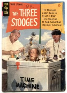 Three Stooges #25 1965-Gold Key- Time Machine G-