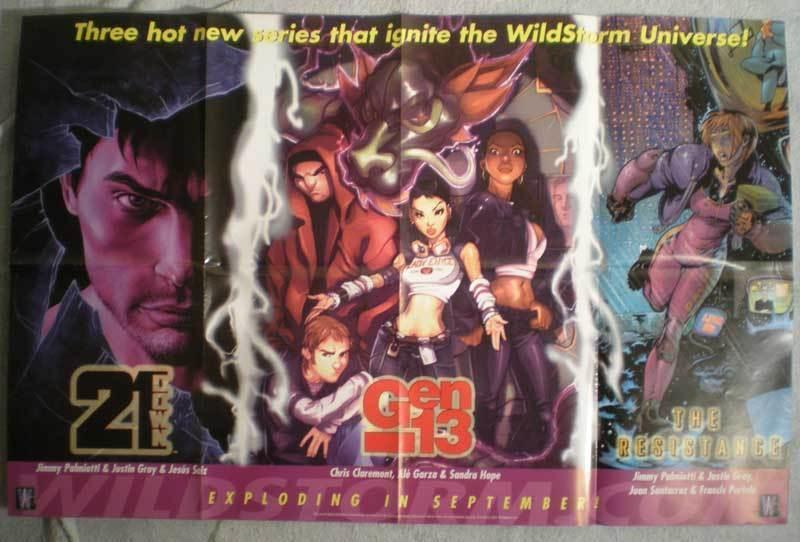 GEN 13 Promo poster, 34 x 22, 2002, Unused, more in our store