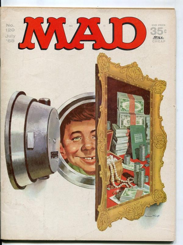 Mad-Magazine-#120-1968-Mingo-Mort Drucker-Don Martin-David Berg