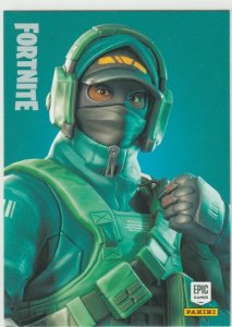 Fortnite Reflex 190 Rare Outfit Panini 2019 trading card series 1