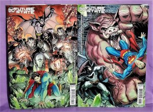 DC Future State BATMAN / SUPERMAN #1 - 2 Art Adams Variant Covers (DC, 2021)!