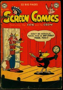 REAL SCREEN COMICS #37 1951-FOX AND CROW FLIPPITY-FLOP FR