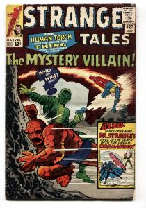 STRANGE TALES #127 comic book-HUMAN TORCH-THING-DR. STRANGE-1964 vg-